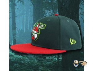 The Redtails 59Fifty Fitted Hat by Over Your Head x New Era Side