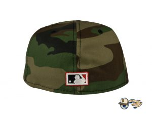 Chicago White Sox Woodland Camo Side Patch 59Fifty Fitted Hat by MLB x New Era Back