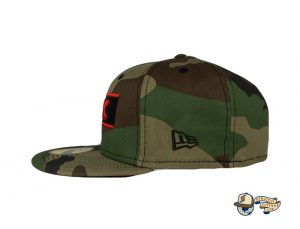 Chicago White Sox Woodland Camo Side Patch 59Fifty Fitted Hat by MLB x New Era Left