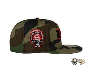Chicago White Sox Woodland Camo Side Patch 59Fifty Fitted Hat by MLB x New Era Side