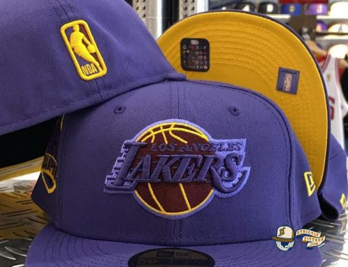 Los Angeles Lakers Champs Custom 59Fifty Fitted Hat by NBA x New Era
