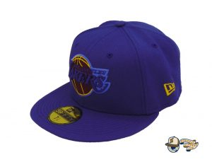Los Angeles Lakers Champs Custom 59Fifty Fitted Hat by NBA x New Era Left