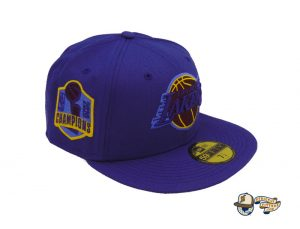Los Angeles Lakers Champs Custom 59Fifty Fitted Hat by NBA x New Era Right
