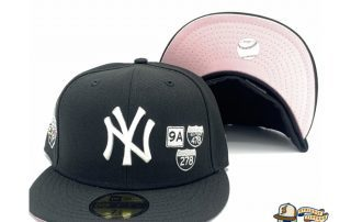 New York Yankees 1998 World Series Interstate 59Fifty Fitted Hat by MLB x New Era
