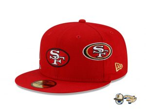 NFL Just Don 2021 59Fifty Fitted Hat Collection by NFL x Just Don x New Era 49ers