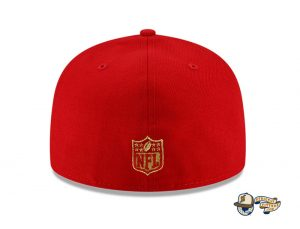 NFL Just Don 2021 59Fifty Fitted Hat Collection by NFL x Just Don x New Era Back