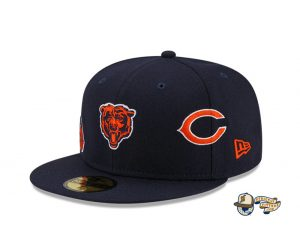 NFL Just Don 2021 59Fifty Fitted Hat Collection by NFL x Just Don x New Era Bears