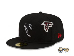 NFL Just Don 2021 59Fifty Fitted Hat Collection by NFL x Just Don x New Era Falcons