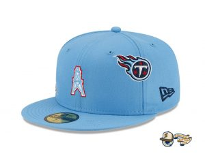 NFL Just Don 2021 59Fifty Fitted Hat Collection by NFL x Just Don x New Era Oilers