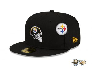 NFL Just Don 2021 59Fifty Fitted Hat Collection by NFL x Just Don x New Era Steelers
