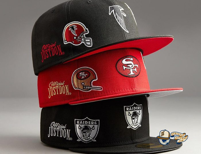 NFL Just Don 2021 59Fifty Fitted Hat Collection by NFL x Just Don x New Era