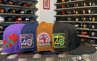 Seattle Mariners Custom Side Patch 59Fifty Fitted Hat Collection by MLB x New Era