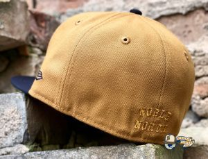 Sneaky Blinders And North Star October 2021 59Fifty Fitted Hat Collection by Noble North x New Era Tan