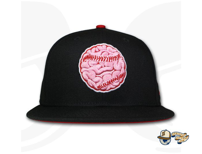 The Brain Ball 59Fifty Fitted Hat by Over Your Head x New Era